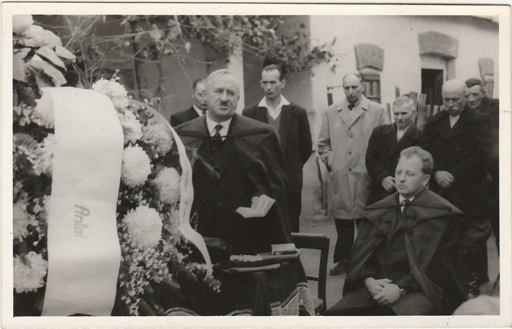 Darányi Lajos püsüök úr temetése
