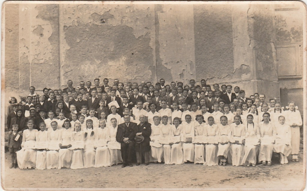 Konfirmáció 1953