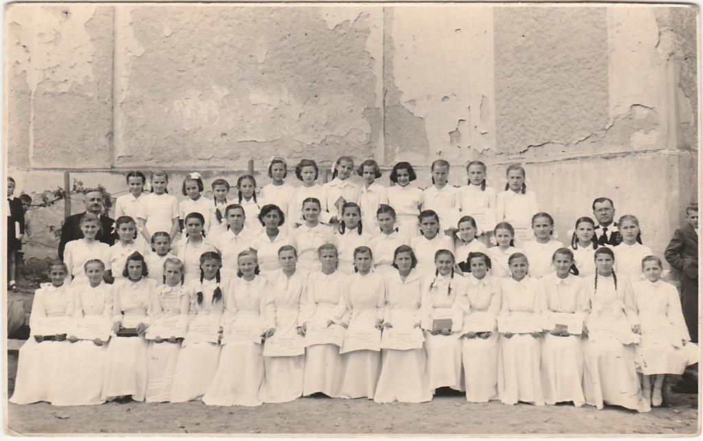 Konfirmáció 1954